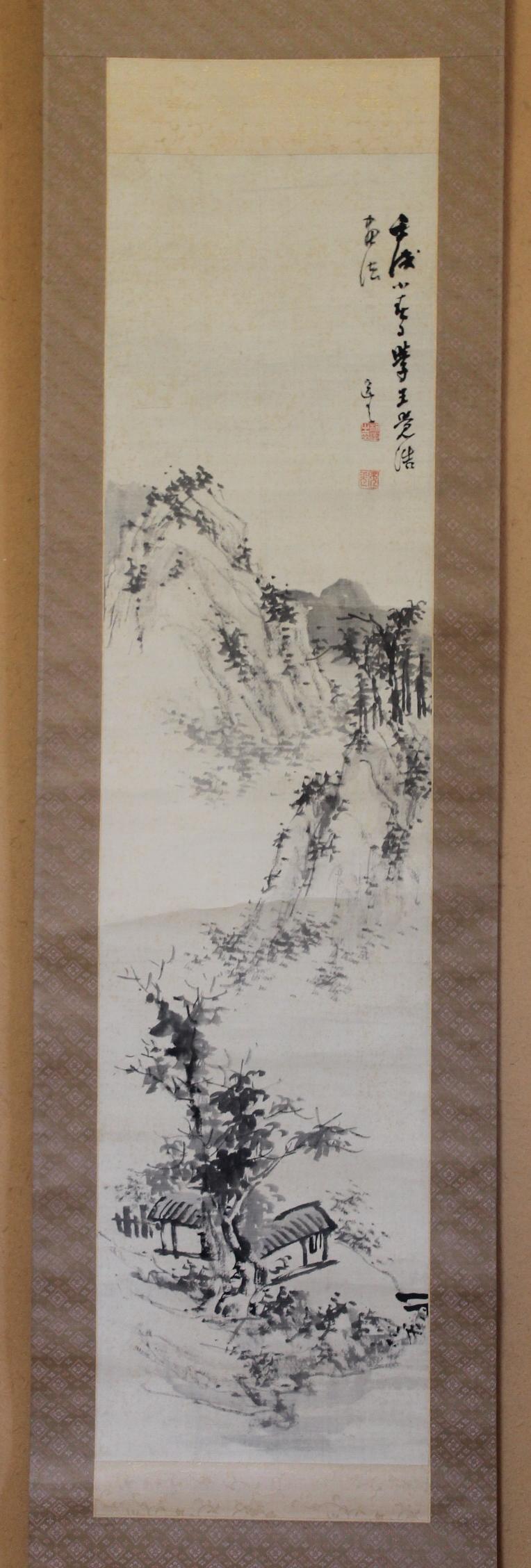 長崎三大家 木下逸雲 山水図 | M&Kラボラトリーズ