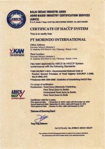 HACCP 2014