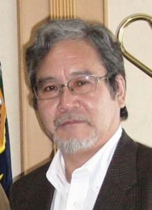 Dr.Nishigaki in Papua with Wakil